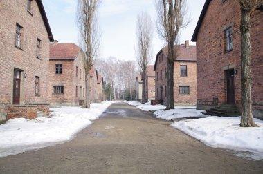 Auschwitz, death camp in Poland