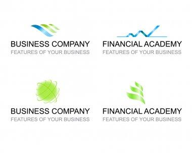 Business corporate logo templates