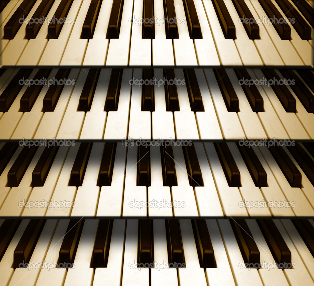 Piano Background Music: Stock Photo © Risia #6153285