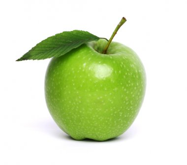 Granny Smith isolated on white