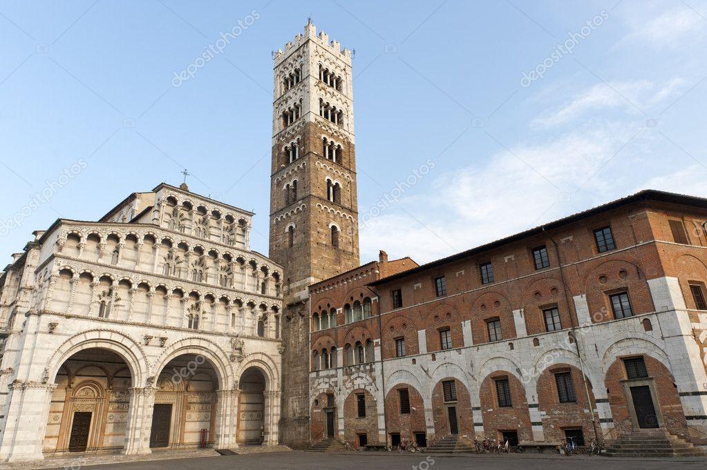 Kathedraal Van Lucca.Kathedraal Van Lucca Toscane Stockfoto C Clodio 6637159