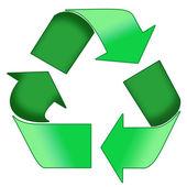 zelený recykl symbol