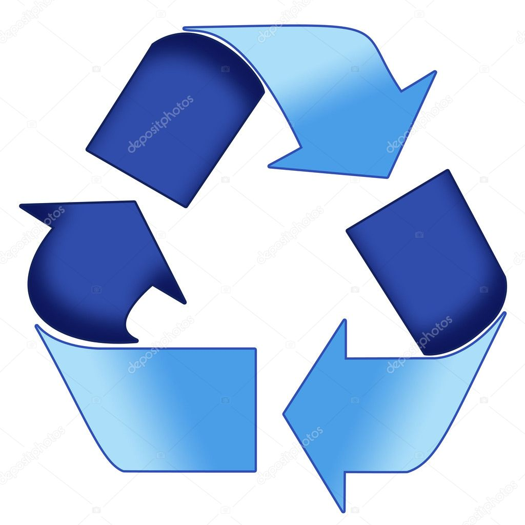 Blue recycle symbol stock photo rustonwayne 6455326 a colourful blue 3d recycle symbol illustration photo by rustonwayne buycottarizona Image collections