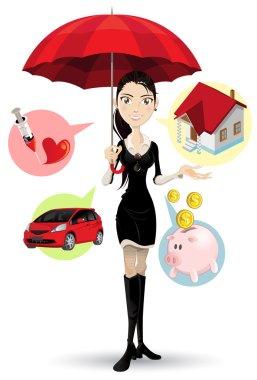 Confident Customer Service Representative Explaining Insurance Procedure