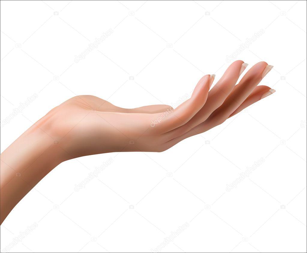 Opened hand