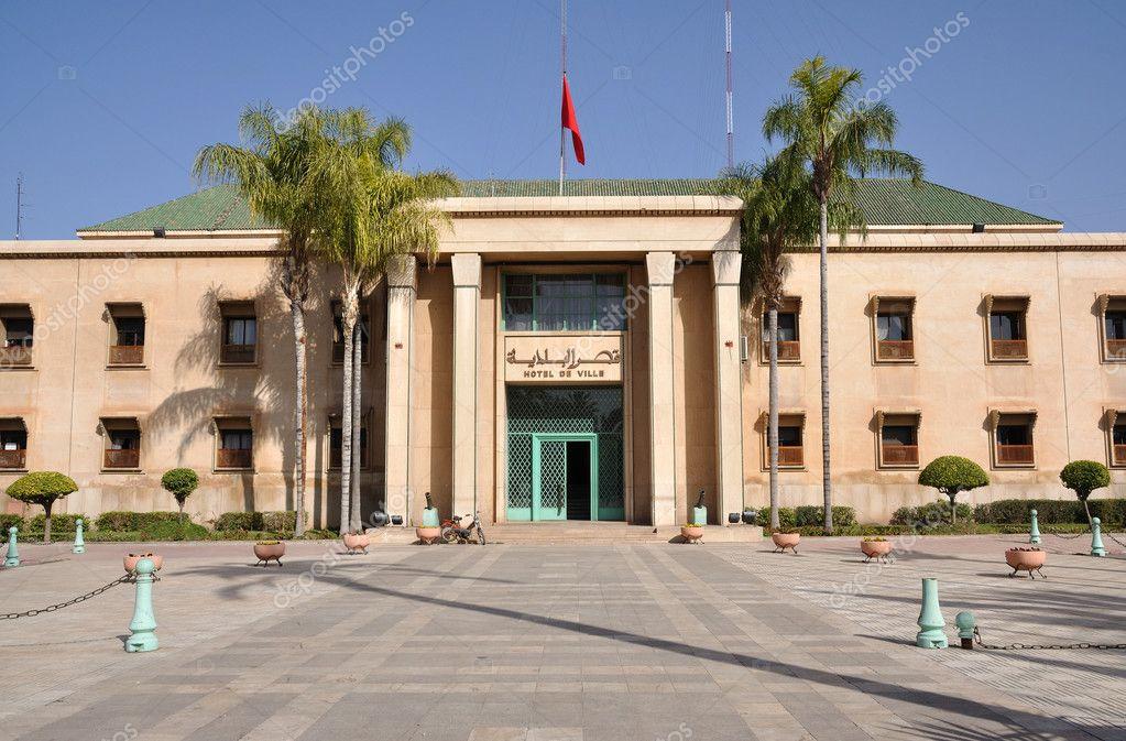H tel de ville en marrakech marruecos fotos de stock for Bab hotel marrakech piscine