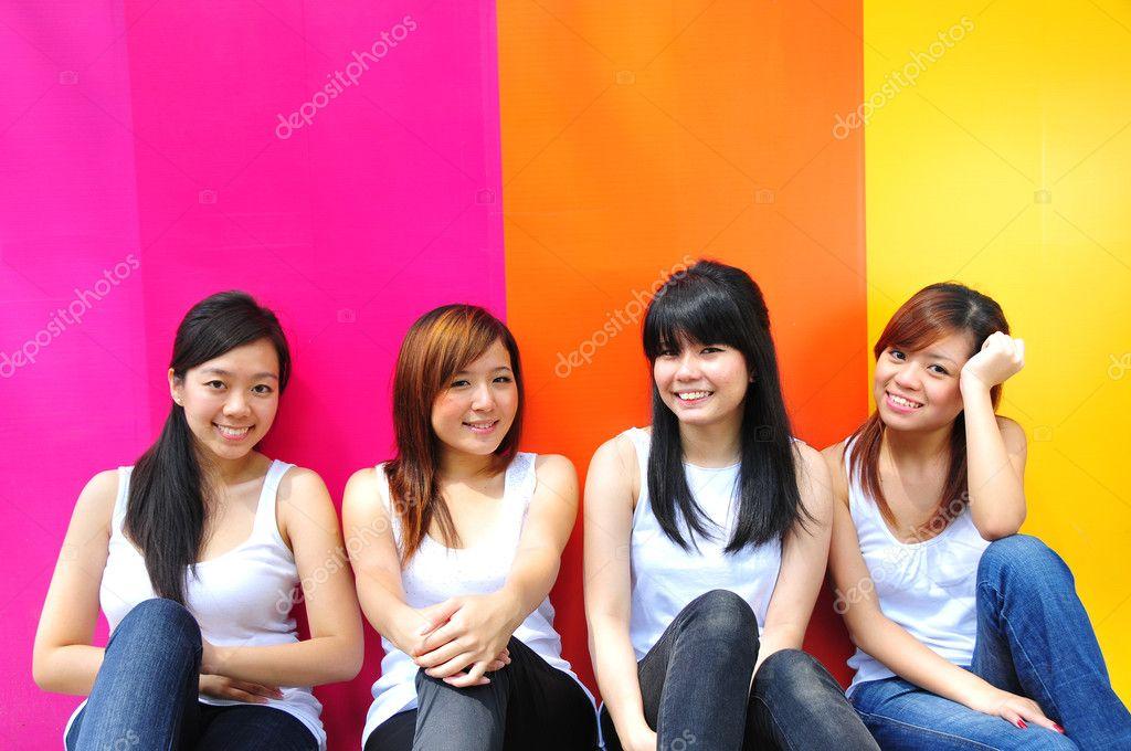 chinesische Mädchen für Freundschaft
