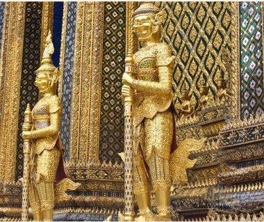 Gold Palace Guards at Governor Palace
