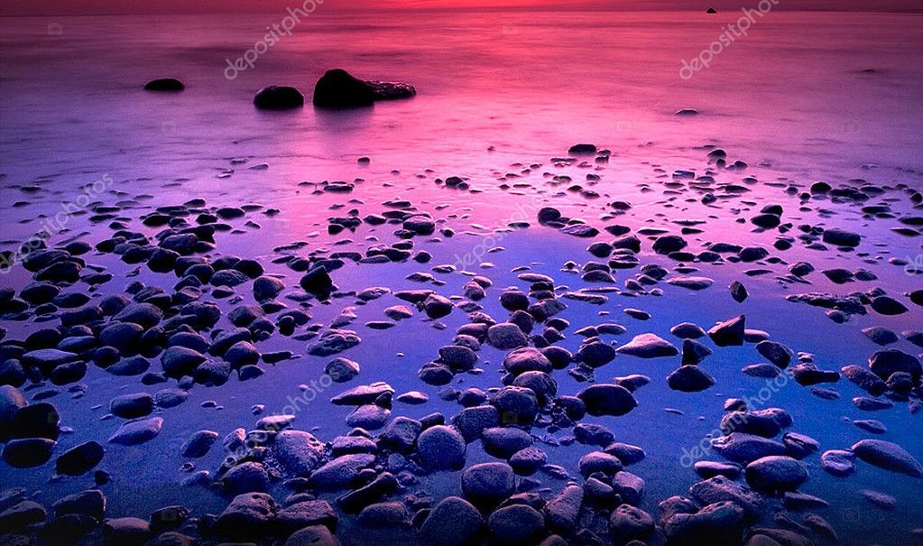 Sunset at Andoben Sea