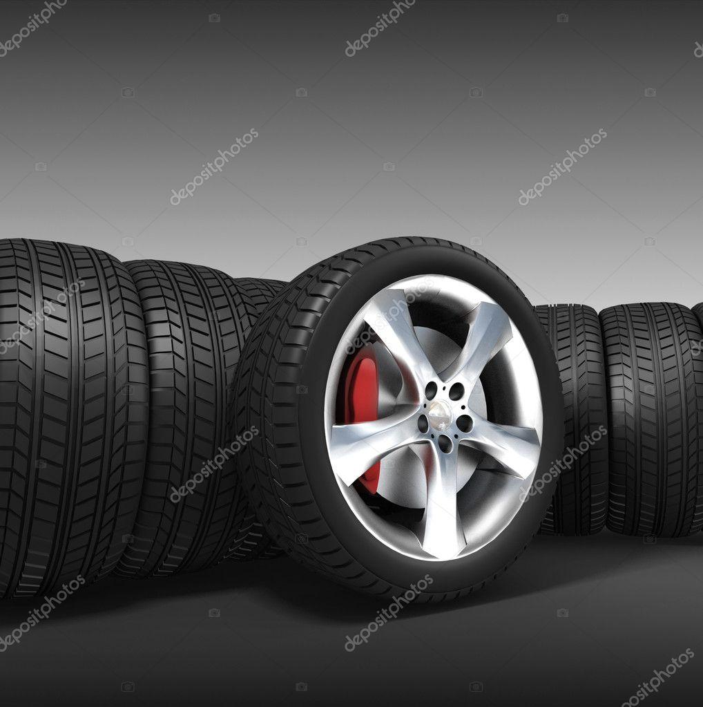 Tyres automobile