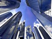 firemní budovy v perspektivě