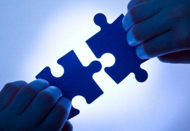 Business values - teamwork concept