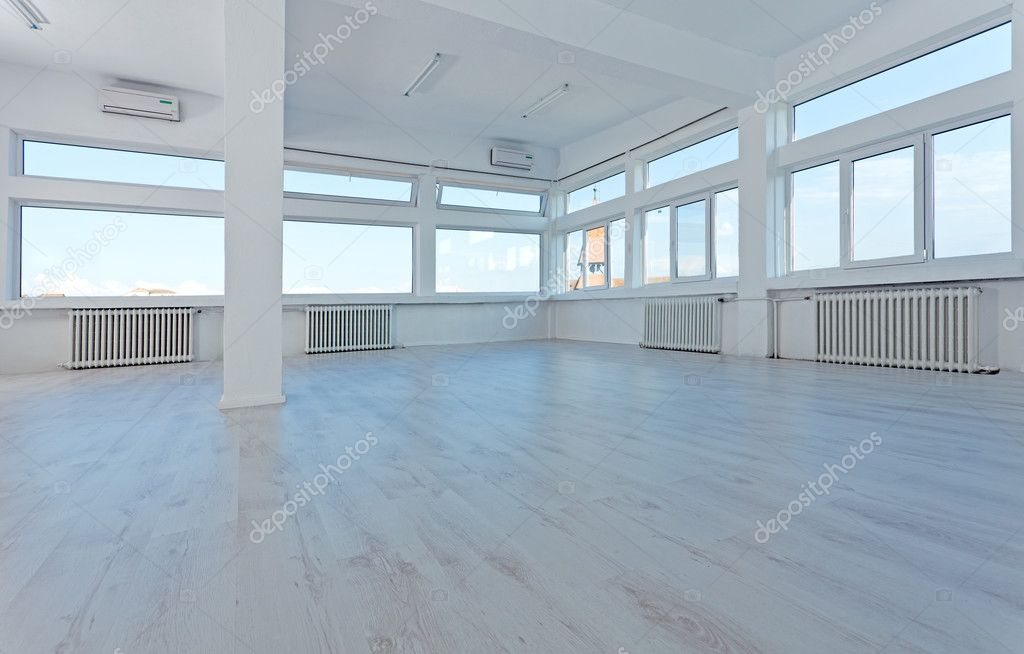 Empty Office Space To Let Stock Photo 6409097