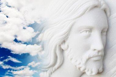 Jesus christ in the sky
