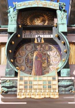 Anker clock in Vienna (Austria)