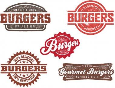 Classic Burger Stamp