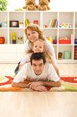 Fotografie příležitostné rodina doma