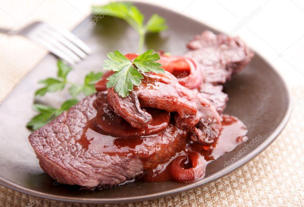 Рецепт мяса вине фото