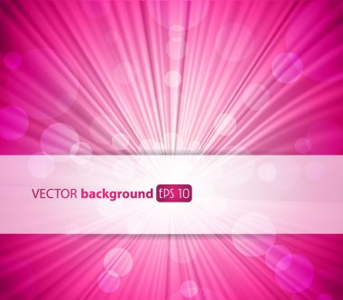 Abstract pink background with place for your text. clip art vector