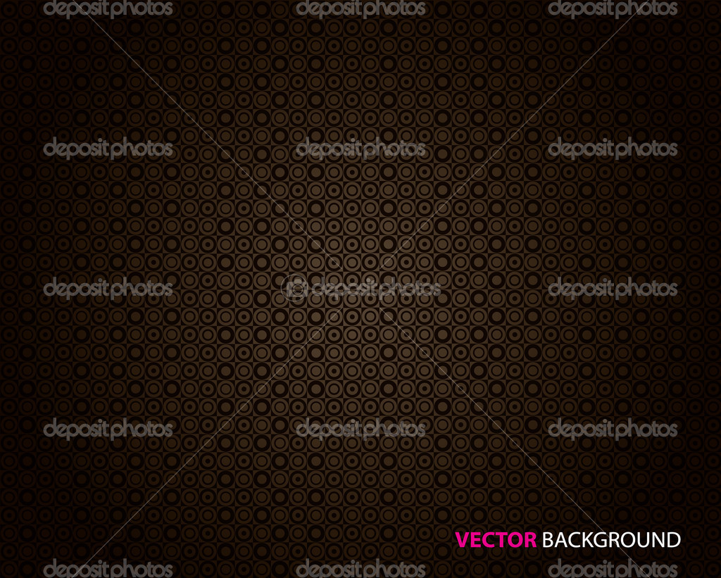 Abstract dark brown background with circles.