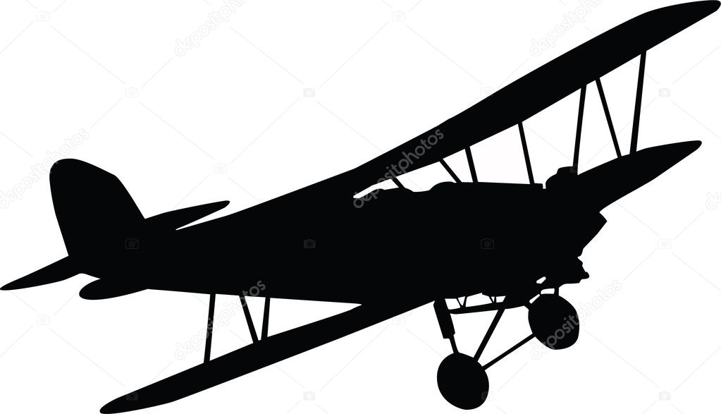 Black Plane — Stock Photo © Vaclav.Kostal #6372359