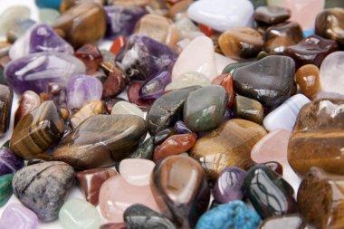 Semi precious gemstones.