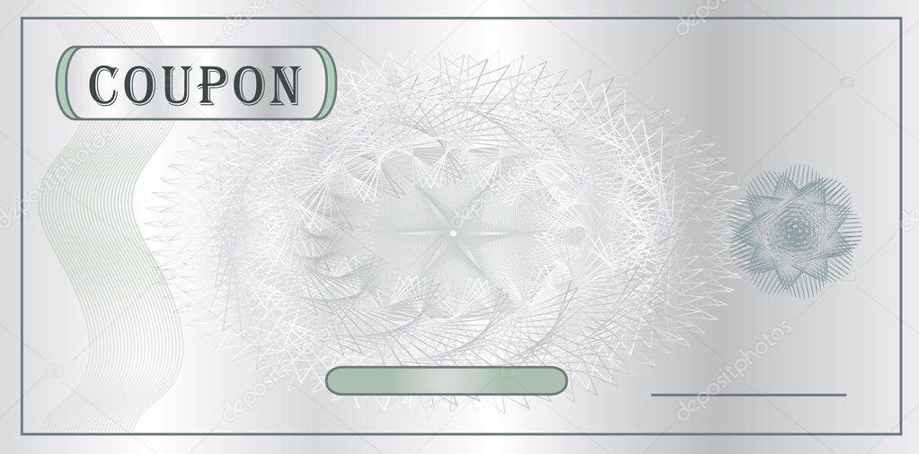Coupon Template Vector Stock Vector 169 Mondi H 6337277