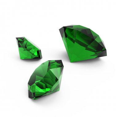 Beautiful gems isolated