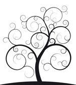 Fotografie Schwarze Spiral Baum