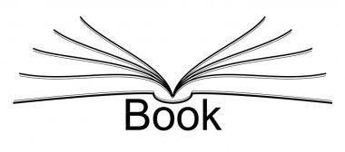 stylized ebook icon