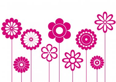 "Картина, постер, плакат, фотообои ""фиолетовые цветы цветы одуванчики маки"", артикул 6475073"