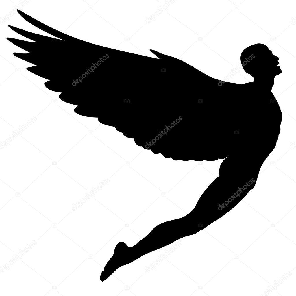 Картинки по запросу картинки летающего человека с крыльями