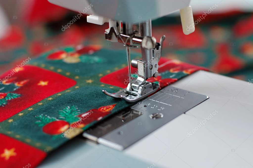 Weihnachten nähen — Stockfoto © andrejad #6399562