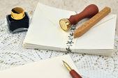 Fotografie einen Brief schreiben
