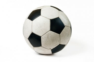 Used classic soccer ball