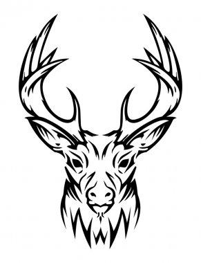 Deer cute (vector)