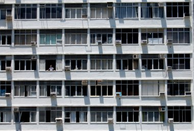 Windows and air conditioners