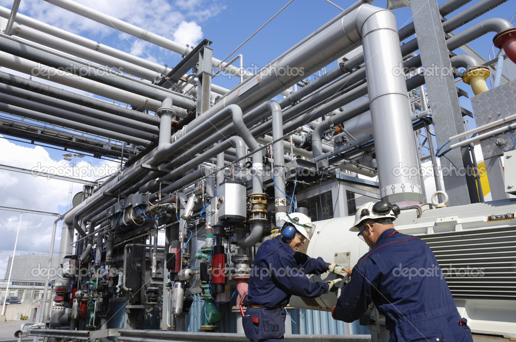 Engineers, pipelines and industry