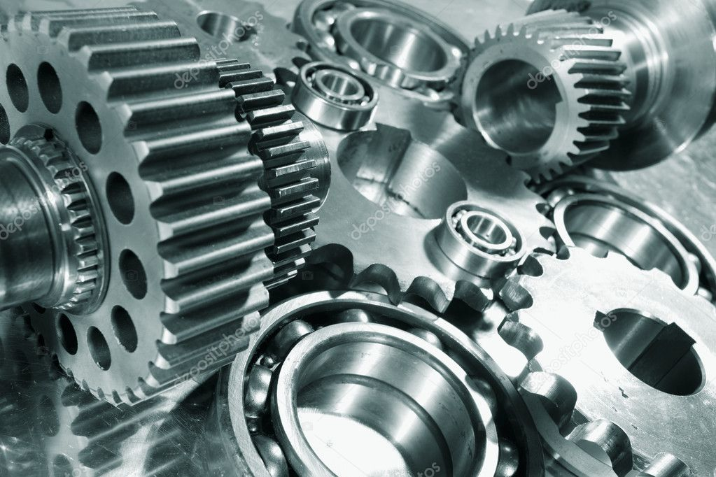 Engineering parts and gear wheels