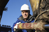 fissaggio bulldozer ingegnere