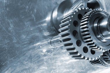 Aerospace gears of finest titanium