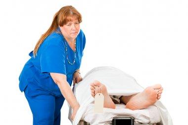 Nurse Transporting Dead Patient