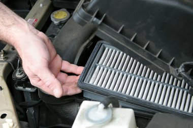 Dirty Car Air Filter