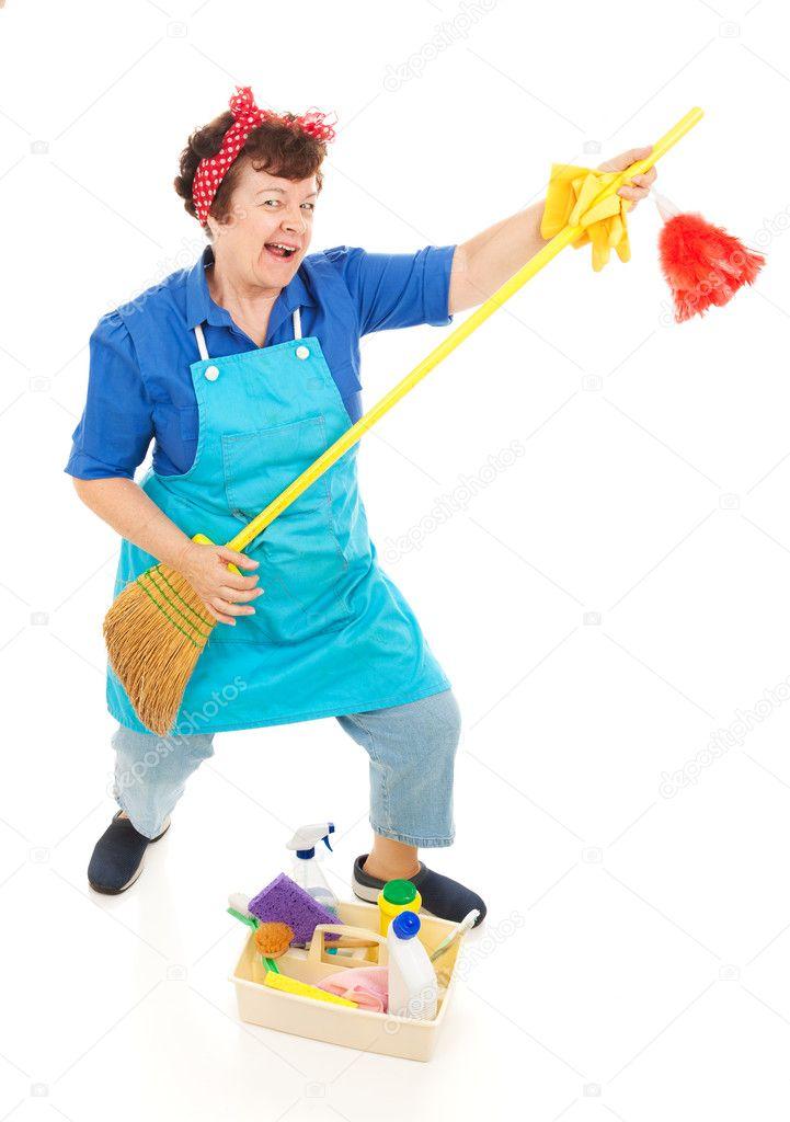 смешные картинки уборщица со шваброй туфли лабутен следует