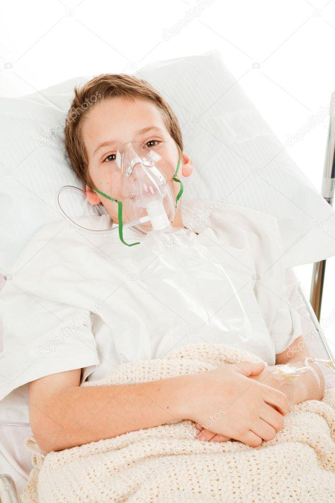 Znalezione obrazy dla zapytania maska tlenowa dziecko szpital