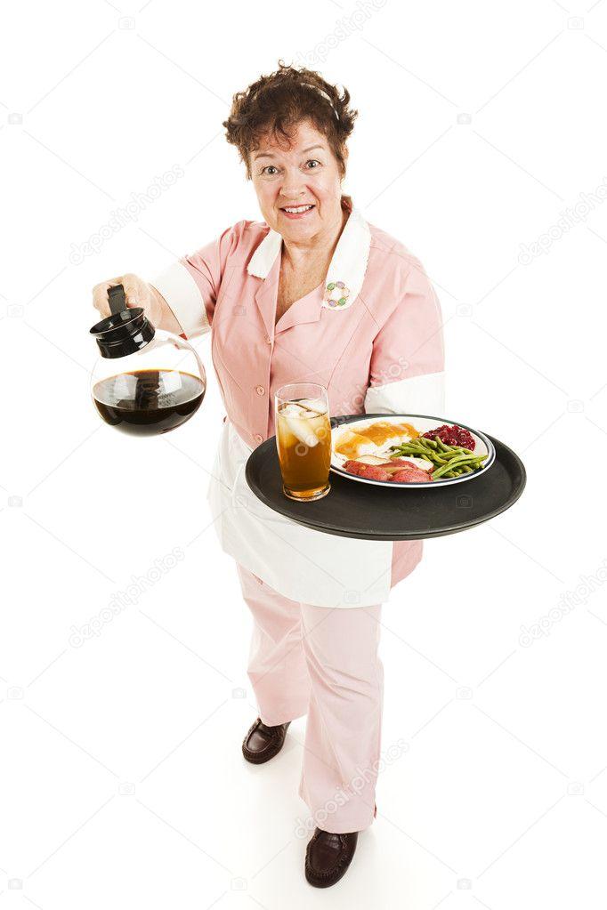 Waitress - Good Service — Stock Photo © lisafx #6517098