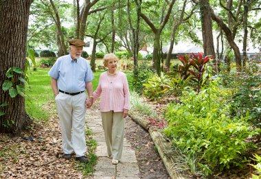 Seniors Walking Together