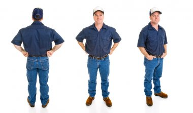 Blue Collar Man - Three Perspectives