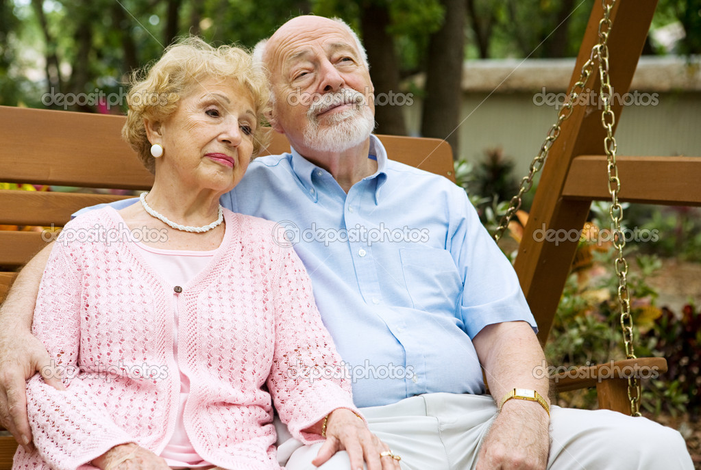 Seniors Couple Relaxing