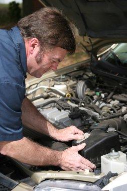 Auto Mechanic Working